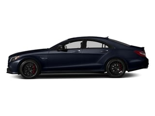 Lunar Blue Metallic 2018 Mercedes-Benz CLS Pictures CLS AMG CLS 63 S 4MATIC Coupe photos side view