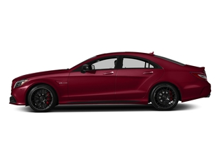 designo Cardinal Red Metallic 2018 Mercedes-Benz CLS Pictures CLS AMG CLS 63 S 4MATIC Coupe photos side view