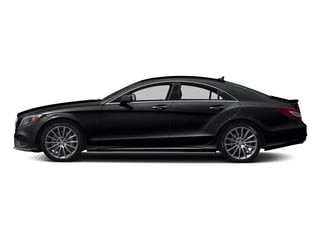 Black 2018 Mercedes-Benz CLS Pictures CLS CLS 550 4MATIC Coupe photos side view