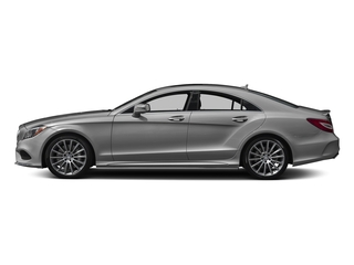 designo Magno Alanite Grey (Matte Finish) 2018 Mercedes-Benz CLS Pictures CLS CLS 550 4MATIC Coupe photos side view