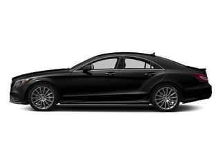 Magnetite Black Metallic 2018 Mercedes-Benz CLS Pictures CLS CLS 550 4MATIC Coupe photos side view