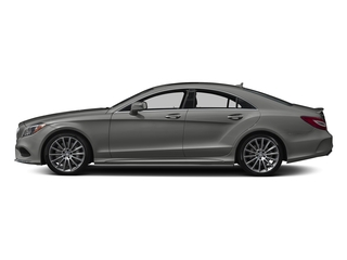 designo Magno Selenite Grey (Matte Finish) 2018 Mercedes-Benz CLS Pictures CLS CLS 550 4MATIC Coupe photos side view