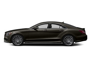 Dakota Brown Metallic 2018 Mercedes-Benz CLS Pictures CLS CLS 550 4MATIC Coupe photos side view