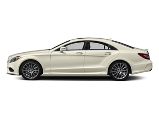 designo Diamond White Metallic 2018 Mercedes-Benz CLS Pictures CLS CLS 550 4MATIC Coupe photos side view