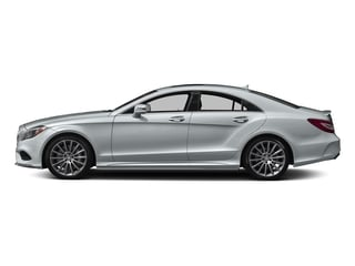 Diamond Silver Metallic 2018 Mercedes-Benz CLS Pictures CLS CLS 550 4MATIC Coupe photos side view