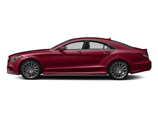 designo Cardinal Red Metallic 2018 Mercedes-Benz CLS Pictures CLS CLS 550 4MATIC Coupe photos side view