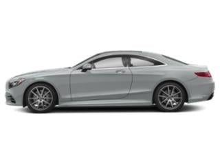 Iridium Silver Metallic 2018 Mercedes-Benz S-Class Pictures S-Class S 560 4MATIC Coupe photos side view