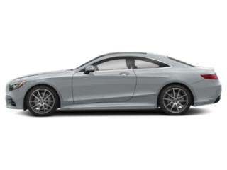 Diamond Silver Metallic 2018 Mercedes-Benz S-Class Pictures S-Class S 560 4MATIC Coupe photos side view