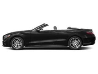 Obsidian Black Metallic 2018 Mercedes-Benz S-Class Pictures S-Class S 560 Cabriolet photos side view