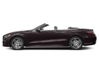 Ruby Black Metallic 2018 Mercedes-Benz S-Class Pictures S-Class S 560 Cabriolet photos side view