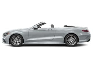 Diamond Silver Metallic 2018 Mercedes-Benz S-Class Pictures S-Class S 560 Cabriolet photos side view