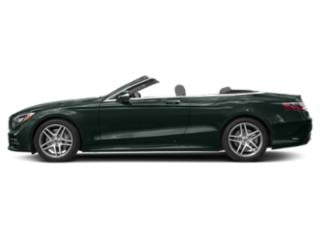 Emerald Green Metallic 2018 Mercedes-Benz S-Class Pictures S-Class S 560 Cabriolet photos side view