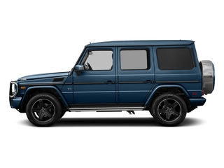 designo Manufaktur Mauritius Blue 2018 Mercedes-Benz G-Class Pictures G-Class 4 Door Utility 4Matic photos side view