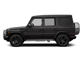 designo Platinum Black Metallic 2018 Mercedes-Benz G-Class Pictures G-Class G 550 4MATIC SUV photos side view