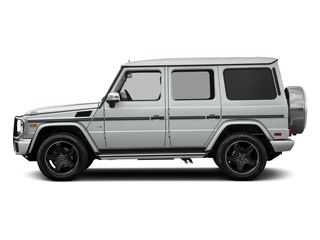 Iridium Silver Metallic 2018 Mercedes-Benz G-Class Pictures G-Class 4 Door Utility 4Matic photos side view