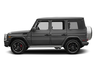designo Graphite Metallic 2018 Mercedes-Benz G-Class Pictures G-Class AMG G 63 4MATIC SUV photos side view