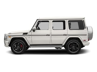 designo Manufaktur Mystic White 2018 Mercedes-Benz G-Class Pictures G-Class AMG G 63 4MATIC SUV photos side view