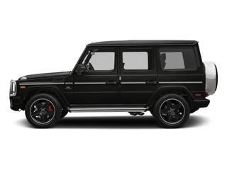 designo Night Black Magno 2018 Mercedes-Benz G-Class Pictures G-Class AMG G 63 4MATIC SUV photos side view