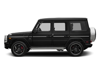 Magnetite Black Metallic 2018 Mercedes-Benz G-Class Pictures G-Class AMG G 63 4MATIC SUV photos side view