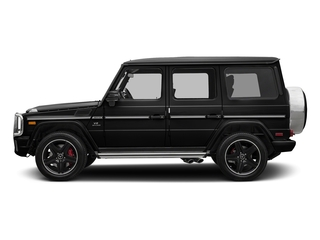 Obsidian Black Metallic 2018 Mercedes-Benz G-Class Pictures G-Class AMG G 63 4MATIC SUV photos side view