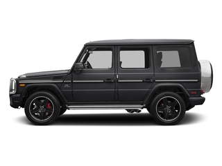 Steel Grey Metallic 2018 Mercedes-Benz G-Class Pictures G-Class AMG G 63 4MATIC SUV photos side view