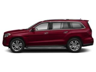 designo Cardinal Red 2018 Mercedes-Benz GLS Pictures GLS Utility 4D GLS450 AWD V6 Turbo photos side view
