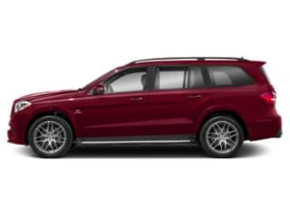 designo Cardinal Red 2018 Mercedes-Benz GLS Pictures GLS Utility 4D GLS63 AMG AWD V8 Turbo photos side view