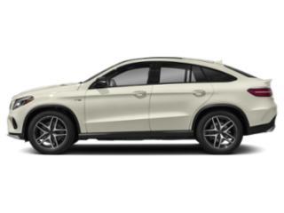 Polar White 2018 Mercedes-Benz GLE Pictures GLE AMG GLE 43 4MATIC Coupe photos side view