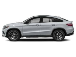 Diamond Silver Metallic 2018 Mercedes-Benz GLE Pictures GLE AMG GLE 43 4MATIC Coupe photos side view