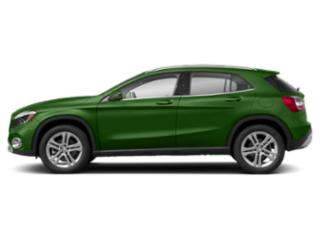 Kryptonite Green Metallic 2018 Mercedes-Benz GLA Pictures GLA GLA 250 4MATIC SUV photos side view