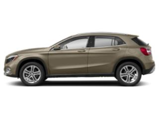 Canyon Beige Metallic 2018 Mercedes-Benz GLA Pictures GLA GLA 250 4MATIC SUV photos side view