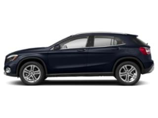 Lunar Blue Metallic 2018 Mercedes-Benz GLA Pictures GLA GLA 250 4MATIC SUV photos side view
