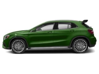 Kryptonite Green Metallic 2018 Mercedes-Benz GLA Pictures GLA AMG GLA 45 4MATIC SUV photos side view
