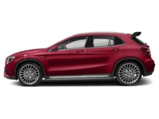 Jupiter Red 2018 Mercedes-Benz GLA Pictures GLA AMG GLA 45 4MATIC SUV photos side view
