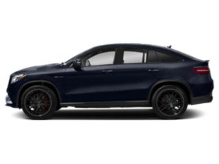 Lunar Blue Metallic 2018 Mercedes-Benz GLE Pictures GLE Utility 4D GLE63 AMG S Sport Cpe AWD photos side view