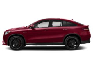 designo Cardinal Red Metallic 2018 Mercedes-Benz GLE Pictures GLE Utility 4D GLE63 AMG S Sport Cpe AWD photos side view