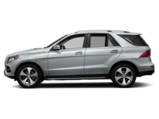 Diamond Silver Metallic 2018 Mercedes-Benz GLE Pictures GLE GLE 350 4MATIC SUV photos side view