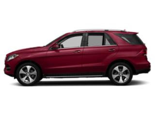 designo Cardinal Red Metallic 2018 Mercedes-Benz GLE Pictures GLE GLE 350 4MATIC SUV photos side view