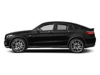 Obsidian Black Metallic 2018 Mercedes-Benz GLC Pictures GLC AMG GLC 43 4MATIC Coupe photos side view