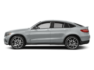 Iridium Silver Metallic 2018 Mercedes-Benz GLC Pictures GLC AMG GLC 43 4MATIC Coupe photos side view