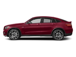 designo Cardinal Red Metallic 2018 Mercedes-Benz GLC Pictures GLC AMG GLC 43 4MATIC Coupe photos side view