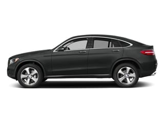 Selenite Grey Metallic 2018 Mercedes-Benz GLC Pictures GLC GLC 300 4MATIC Coupe photos side view