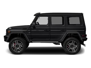 Black 2018 Mercedes-Benz G-Class Pictures G-Class G 550 4x4 Squared SUV photos side view
