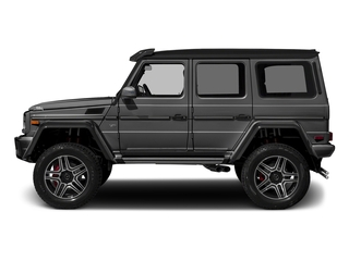 designo Graphite Metallic 2018 Mercedes-Benz G-Class Pictures G-Class G 550 4x4 Squared SUV photos side view