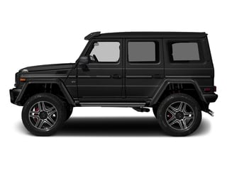 Magnetite Black Metallic 2018 Mercedes-Benz G-Class Pictures G-Class G 550 4x4 Squared SUV photos side view