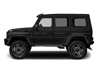 Obsidian Black Metallic 2018 Mercedes-Benz G-Class Pictures G-Class G 550 4x4 Squared SUV photos side view