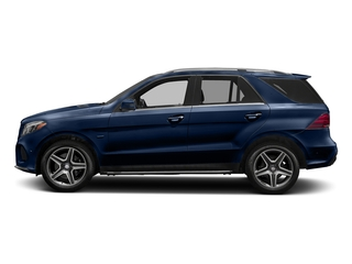 Brilliant Blue Metallic 2018 Mercedes-Benz GLE Pictures GLE GLE 550e 4MATIC SUV photos side view