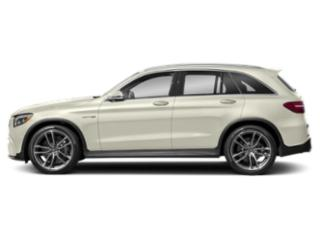 Polar White 2018 Mercedes-Benz GLC Pictures GLC AMG GLC 63 4MATIC SUV photos side view