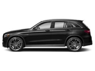 Obsidian Black Metallic 2018 Mercedes-Benz GLC Pictures GLC AMG GLC 63 4MATIC SUV photos side view