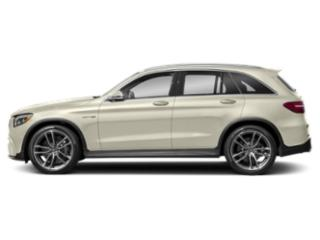 designo Diamond White Metallic 2018 Mercedes-Benz GLC Pictures GLC AMG GLC 63 4MATIC SUV photos side view